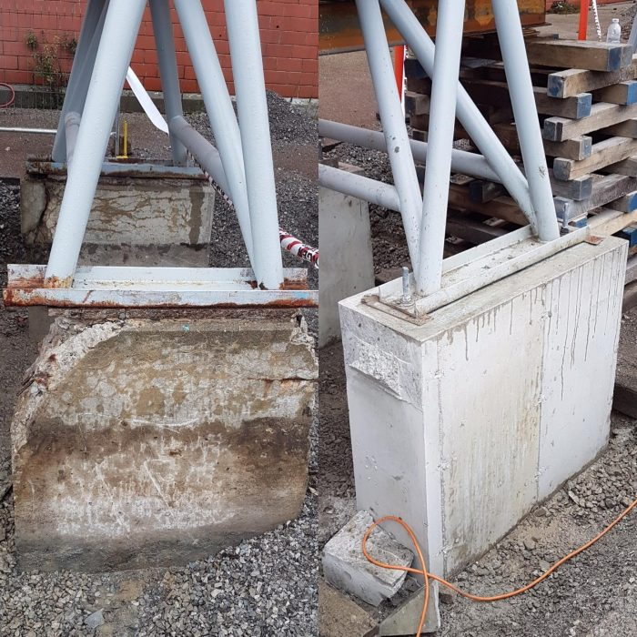 Kiln dryer supports